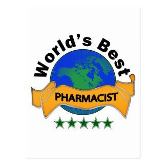 World s Best Pharmacist Postcard