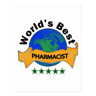 World s Best Pharmacist Post Card