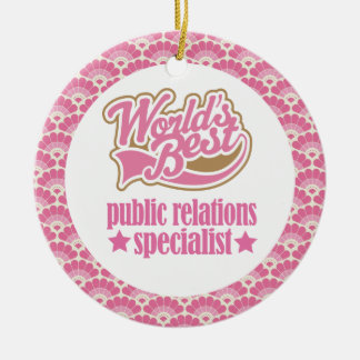 World's Best Public Relations Gift Ornament