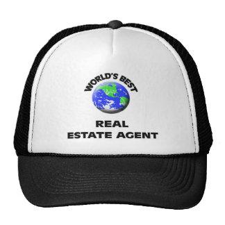 World s Best Real Estate Agent Trucker Hat