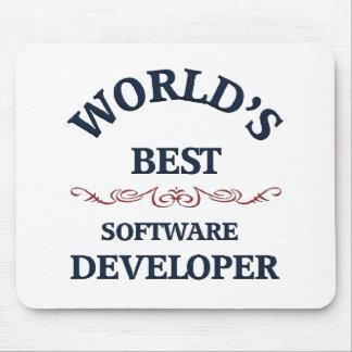 World s best Software Developer Mouse Pads