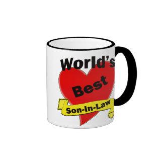 World s Best Son-In-Law Coffee Mugs