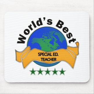 World s Best Special Ed Teacher Mouse Pad
