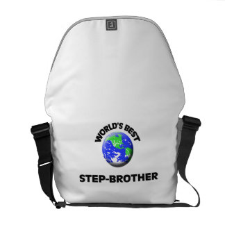World s Best Step-Brother Courier Bag