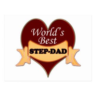 World s Best Step-Dad Postcards