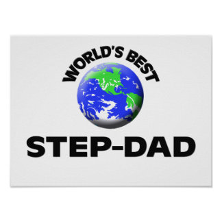 World s Best Step-Dad Posters