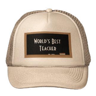 World s Best Teacher Hat