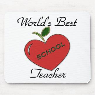 World s Best Teacher Mouse Pads