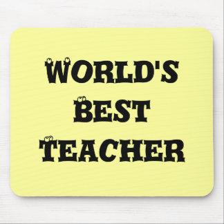 World s best teacher mousepad