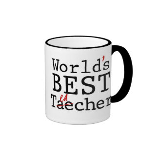 WORLD S BEST TEACHER - mug
