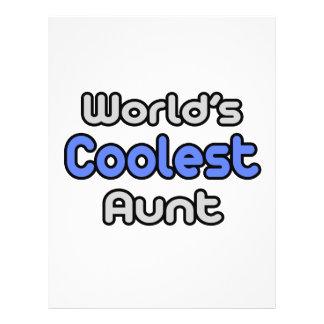 World s Coolest Aunt Flyers