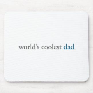world s coolest dad mouse mat