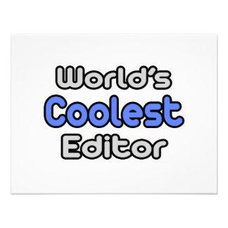 World s Coolest Editor Custom Announcement