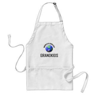 World s Coolest Grandkids Aprons