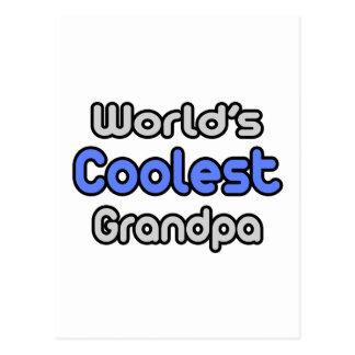 World s Coolest Grandpa Postcard