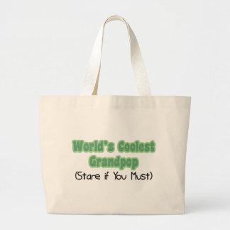 World s Coolest Grandpop Tote Bags