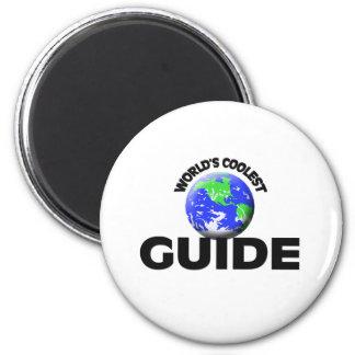World s Coolest Guide Fridge Magnet