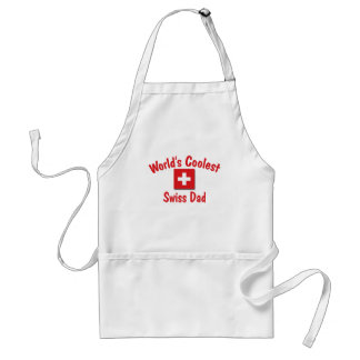 World s Coolest Swiss Dad Aprons