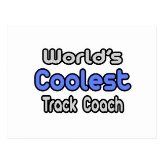 World s Coolest Track Coach Postcards