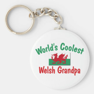 World s Coolest Welsh Grandpa Keychains