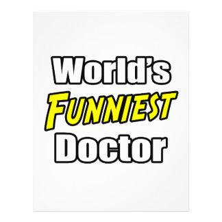 World s Funniest Doctor Full Color Flyer