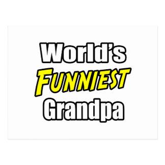 World s Funniest Grandpa Postcards