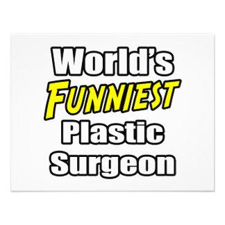 World s Funniest Plastic Surgeon Invitation