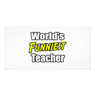 World s Funniest Teacher Photo Cards