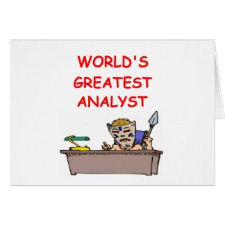 world s greatest analyst card