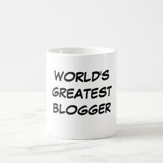 World s Greatest Blogger Mug