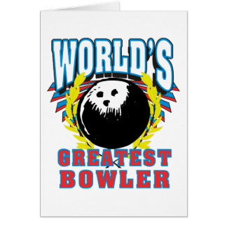 World s Greatest Bowler Card