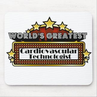 World s Greatest Cardiovascular Technologist Mousepad