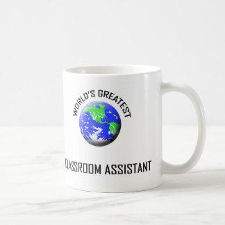 World s Greatest Classroom Assistant Mugs