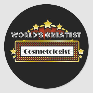 World s Greatest Cosmetologist Stickers