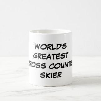 World s Greatest Cross Country Skier Mug
