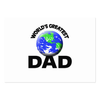 World s Greatest Dad Business Card Template