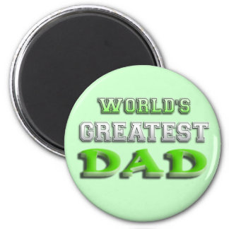 World s Greatest Dad Magnets