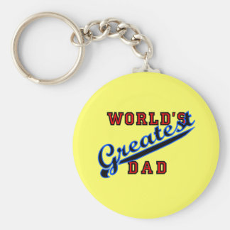World s Greatest Dad Products Key Chains