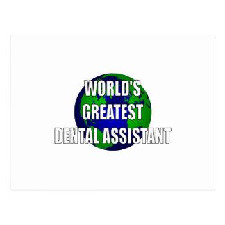 World s Greatest Dental Assistant Postcards