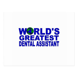 World s Greatest Dental Assistant Post Cards
