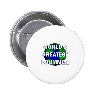 World s Greatest Drummer Button