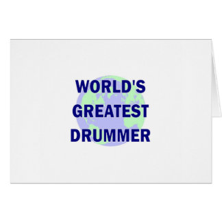 World s Greatest Drummer Cards