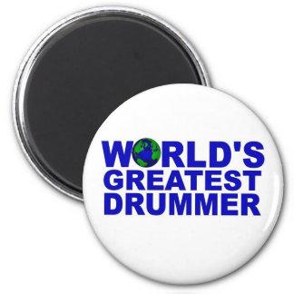 World s Greatest Drummer Magnets