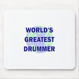World s Greatest Drummer Mousepads