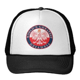 World s Greatest Dziadzia Mesh Hat
