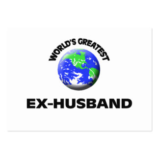 World s Greatest Ex-Husband Business Card