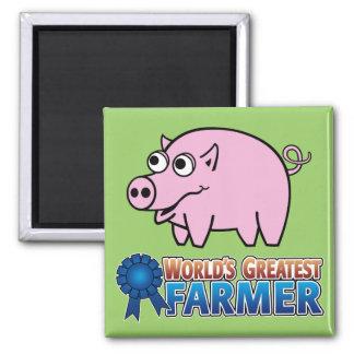 World s Greatest Famer Magnets