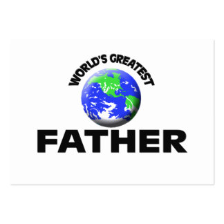 World s Greatest Father Business Card