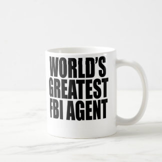 World s Greatest FBI Agent Coffee Mugs