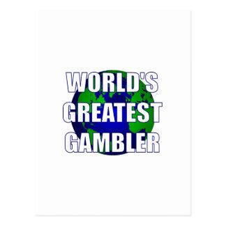 World s Greatest Gambler Post Card